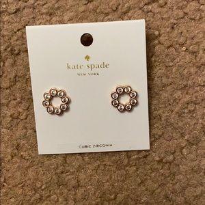 Kate spade full circle earrings new